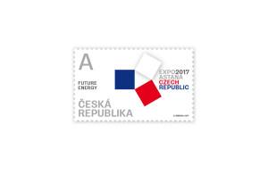 Ondřej Šmerda EXPO2017 známka